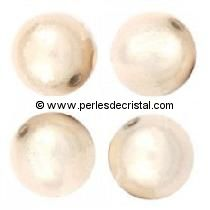 20 PERLES MAGIQUES/MAGIC RONDES 8MM COLORIS CREAM