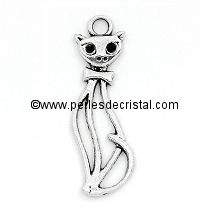 CHARMS ANIMAL : TURTLE SILVER  15 X 9MM