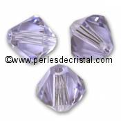 20 TOUPIES 6MM CRISTAL SWAROVSKI COLORIS SIAM #5301