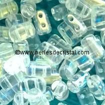 10GR RULLA 3X5MM GLASS COLOURS CRYSTAL AB