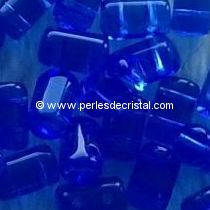 10GR RULLA 3X5MM GLASS COLOURS SAPPHIRE 30060