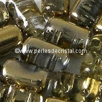10GR RULLA 3X5MM GLASS COLOURS CRYSTAL DORADO