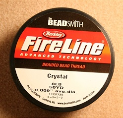 NYLON WIRE FIRELINE 8LB - COLOUR CRYSTAL - REEL 46M (50YD)