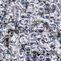 10GR ROCAILLE MATUBO 7/0 - 3.5MM COULEUR CRYSTAL AB 00030/28701