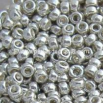 8gr SEED BEADS DURACOAT MIYUKI 15/0 - 1MM COLOURS SILVER GALVANIZED 181