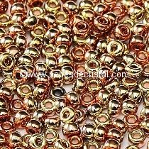 10gr SEED BEADS MIYUKI 11/0 - 2MM COLOURS CALIFORNIA GOLDEN RUSH - 55041