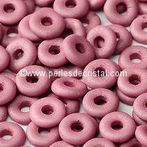5GR O BEAD® 4X2MM EN VERRE COLORIS OPAQUE WINE LEES SILK MAT 02010/29565