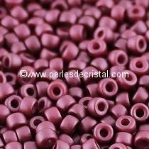 10GR MATUBO Czech Glass Seed Beads 8/0 (3mm)- COLOURS PASTEL BURGUNDY 02010/25031