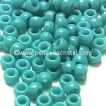 10GR MATUBO Czech Glass Seed Beads 8/0 (3mm) COLOURS OPAQUE DARK BLUE TURQUOISE 63900