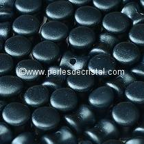 50 PELLETS / DIABOLO 4X6MM EN VERRE COLORIS PASTEL MONTANA BLUE 25042
