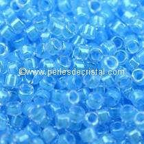 5gr SEED BEADS MIYUKI DELICA 11/0 - 2MM COLOURS LUMINOUS OCEAN BLUE DB2039