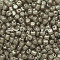 5GR PERLES MINOS® PAR PUCA® 2.5X3MM COLORIS PASTEL LIGHT BROWN COCO 02010/25005