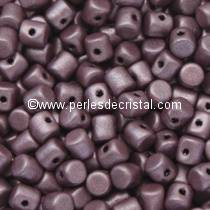 5GR BEADS MINOS® BY PUCA® 2.5X3MM COLOURS METALLIC MAT DARK PLUM 23980/79083