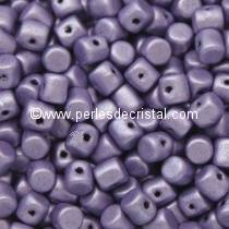 5GR BEADS MINOS® BY PUCA® 2.5X3MM COLOURS METALLIC MAT PURPLE 23980/79021
