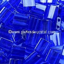 5GR TILAS MIYUKI 5X5MM GLASS BEADS COLOURS COBALT TL-0151 / BLUE