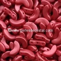 10GR BEADS ARCOS® PAR PUCA® 5X10MM COLOURS PASTEL DARK CORAL 02010/25010