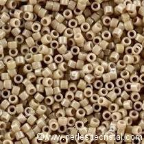 5gr SEED BEADS MIYUKI DELICA 11/0 - 2MM COLOURS DURACOAT OPAQUE BEIGE DB2105