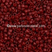 5gr SEED BEADS MIYUKI DELICA 11/0 - 2MM COLOURS DURACOAT OPAQUE JUJUBE DB2119