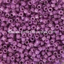 5gr SEED BEADS MIYUKI DELICA 11/0 - 2MM COLOURS DURACOAT OPAQUE ANEMONE DB2140
