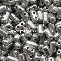 10GR RULLA 3X5MM GLASS COLOURS SILVER PATINE 23980/81002