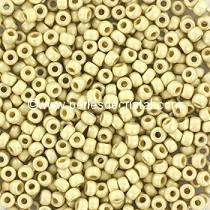 10gr SEED BEADS MIYUKI 11/0 - 2MM COLOURS DURACOAT GALVANIZED MATTE SILVER 4201F
