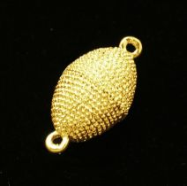 Magnetic clasp, oval - color GOLD - 23x12MM