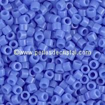 5gr SEED BEADS MIYUKI DELICA 11/0 - 2MM COLOURS OPAQUE LIGHT SAPPHIRE DB0730