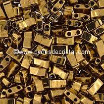 5GR BEADS HALF TILAS MIYUKI COLOURS METALLIC DARK BRONZE HTL-0457