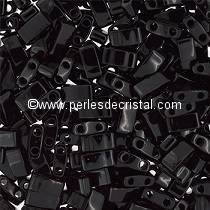 5GR BEADS HALF TILAS MIYUKI COLOURS JET HTL0401 - BLACK