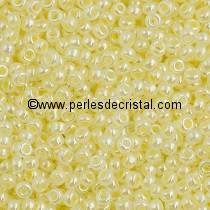 10gr SEED BEADS MIYUKI 11/0 - 2MM COLOURS BUTTER CREAM CEYLON - 527