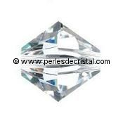 50 TOUPIES 4MM CRISTAL SWAROVSKI COLORIS CRYSTAL #5328