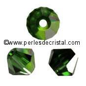 50 TOUPIES 4MM CRISTAL SWAROVSKI COLORIS MONTANA AB #5301