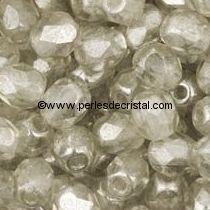 50 FACETTES 4MM CRISTAL VERRE DE BOHEME COLORIS BLACK DIAMOND LUSTER 40020/14400
