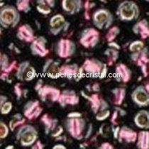 10G Mini Seed beads ORNELA 11/0 - 2mm COLOURS AMETHYST SILVER LINED