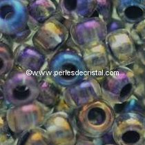10G Mini Seed beads ORNELA 11/0 - 2mm COLOURS BLUE IRIS AB