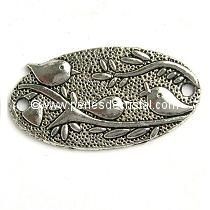 FLOWER SILVER CONNECTOR 