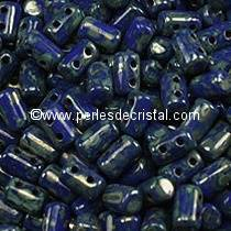 10GR RULLA 3X5MM GLASS COLOURS OPAQUE SAPPHIRE PICASSO 33050/43400
