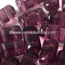 10GR RULLA 3X5MM GLASS COLOURS AMETHYST
