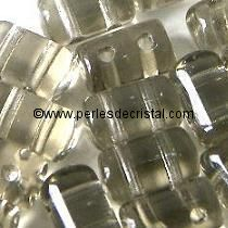 10GR RULLA 3X5MM EN VERRE COLORIS BLACK DIAMOND