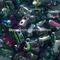10GR RULLA 3X5MM GLASS COLOURS CRYSTAL VITRAIL MEDIUM