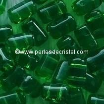 10GR RULLA 3X5MM GLASS COLOURS GREEN