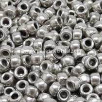 10GR MATUBO Czech Glass Seed Beads 7/0 (3.5mm) COLOURS SILVER / LABRADOR