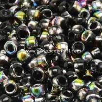 10GR MATUBO Czech Glass Seed Beads 7/0 (3.5mm) COLOURS JET VITRAIL 23980/28101