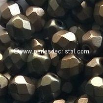 50 FACETTES 4MM CRISTAL VERRE DE BOHEME COLORIS CRYSTAL GREY RAINBOW - 00030/01670