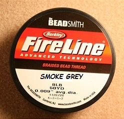 NYLON WIRE FIRELINE 8LB - 0009 - COLOUR SMOKE GREY - REEL 46M (50YD)