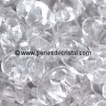 10GR SUPERDUO 2.5X5MM EN VERRE COLORIS CRYSTAL