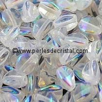50 PINCH 5X3MM EN VERRE COLORIS CALIFORNIA GOLDEN RUSH - 23980/98542
