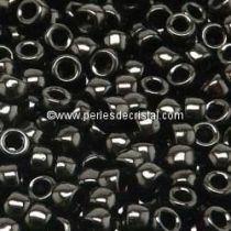 10GR MATUBO Czech Glass Seed Beads 8/0 (3mm) COLOURS JET 23980