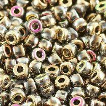 10GR MATUBO Czech Glass Seed Beads 8/0 (3mm) COLOURS CALIFORNIA PINK 00030/98544