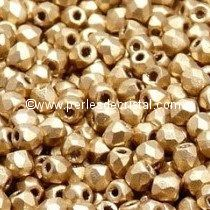 1200 BOHEMIAN GLASS FIRE POLISHED FACETED ROUND BEADS 4MM COLOURS GOLD FULL DORADO 00030/26440